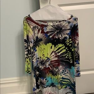 Anthropologie Top 3/4 length